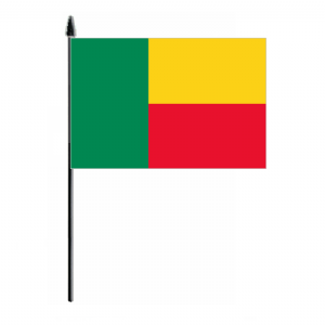 Benin Country Hand Flag - Medium